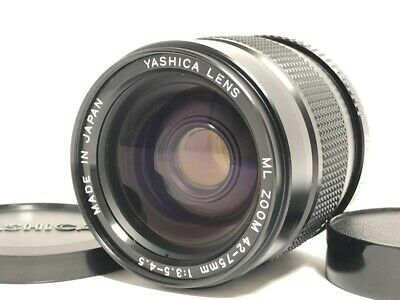 MINT Yashica ML ZOOM 42-75mm F3.5-4.5 C/Y Contax / Yashica Mount Lens Japan 570 • 52.38£