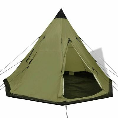 AU90.95 • Buy Camping Tent 4-Person Teepee Design Outdoor Hiking Festival Portable Shelter