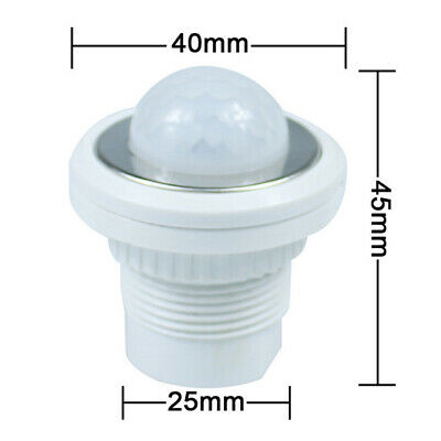 Time Delay Night Switching Ceiling Light Switch Mini PIR Infrared Motion Sensor • 7.04£