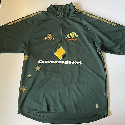 AU49.95 • Buy Adidas Australian Cricket Jersey (L) Pointing
