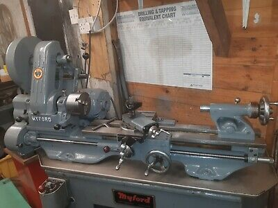 Myford ML7 Lathe In Good Condition With Cabinet Stand REGROUND BED • 1,450£