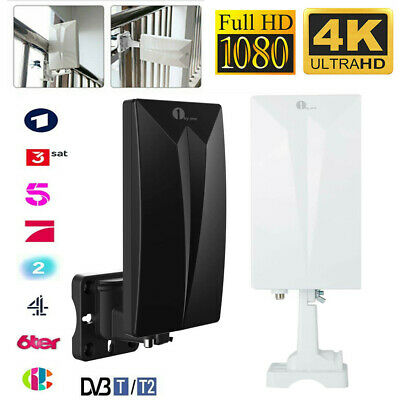 1byone Indoor/Outdoor TV Antenna Digital Freeview Aerial Signals SMD HDTV DVB-T • 17.99£