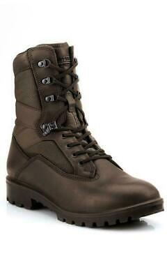 British Army Issue YDS Boots Brown Leather Uk Size 10 • 16£