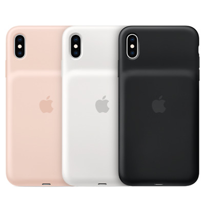 £61.95 • Buy Apple Official Smart Battery Charging Case For Iphone Xs Max - Black Pink White