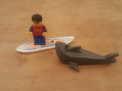 Lego City Surfer Rescue Plus Nibbled Shark - Free Postage • 3.49£