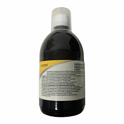 Lactulose Constipation Relief Laxative Solution | 500ml • 9.99£