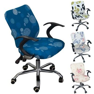 AU12.10 • Buy Computer Chair Cover Stretchable Home Office Separate Armchair Simplism Style