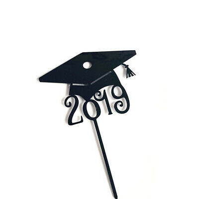 Cake Topper Congrats Graduation Class Acrylic Inserted Baking Decoration Party • 4.91£