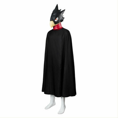 My Hero Academia Cosplay Tokoyami Fumikage Eagle Outfit Costume Cape Only Cloak • 44.90£