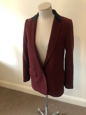 $ CDN42.48 • Buy Wine Red & Black Bimba & Lola Size Small Tuxedo Jacket