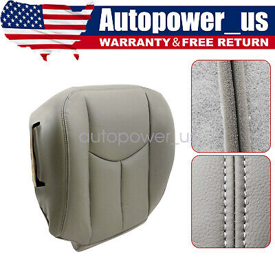 $53.49 • Buy Driver Bottom Seat Cover Gray 2003 2004 2005 2006 GMC Sierra 1500 2500HD