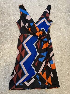 Next Size 18 Womens Dress Summer Work Smart Party Holiday Occasion • 3.50£