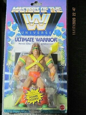 $40 • Buy New Mattel WWE Masters Of The Universe Ultimate Warrior Action Figure Sealed