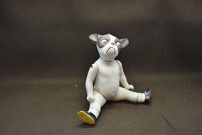 $ CDN17.67 • Buy Antique German Porcelain Doll From Limbach Doll With Animal Head Dog