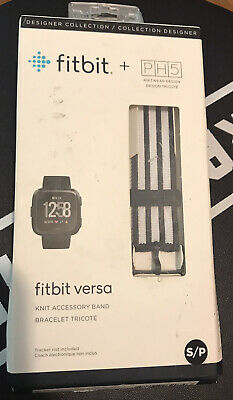 $ CDN11.72 • Buy New Fitbit Versa Small Knit Accessory Band Genuine Fitbit Brand PH5.