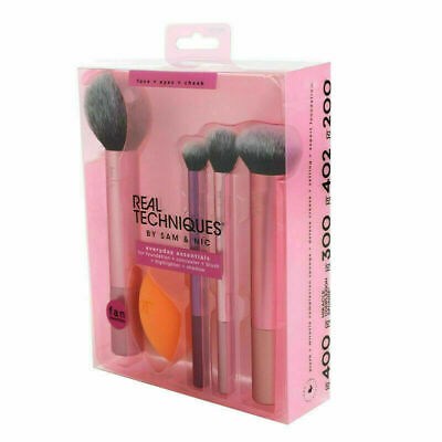 AU19.99 • Buy New Real Techniques Makeup Brushes Set Foundation Smooth Blender Sponges Puff !-