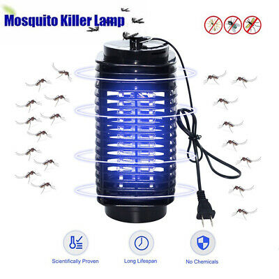 Electric Insect Fly Killer Bug Mosquito Zapper UV Home Indoor Pest Catcher Trap • 7.59£