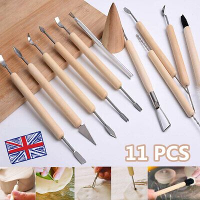 £6.98 • Buy 11PCS Polymer Clay Tools Set Modelling Sculpting Tool Pottery Model Art Projects