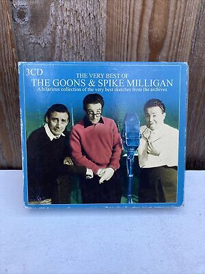 The Very Best Of The Goons & Spike Milligan 3 Cd Disc (2004). • 9.99£