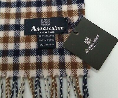 £32.99 • Buy Aquascutum Scarf ✨ Brand New With Tags  Pure 💯% 🐑 Lambswool