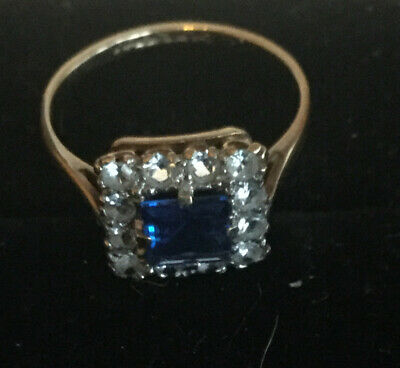 9 Ct Gold Ring Size Uk K.5 Very Pretty Ring Not Scrap • 30.50£