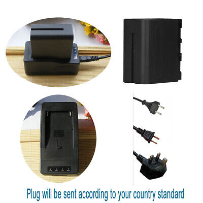 AU44.63 • Buy NP-F970 Battery +Fast Charger For Sony NP-F770 F950 NP-F960 B L Series Camcorder