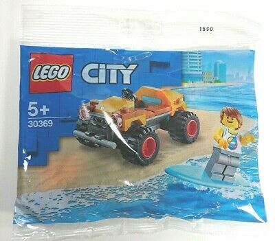 Lego City 30369 Beach Buggy & Surfer Polybag - Brand New & Sealed • 4.99£