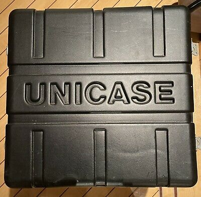 8U Unicase 19 Inch Rack Flight DJ PA Equipment Transport Case Flightcase • 40£