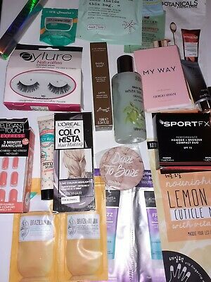 Beauty Bundle Teen Young Adult Includes Hair Make Up Lashes Nails  • 13£