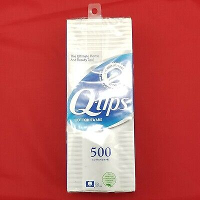 $ CDN12.59 • Buy Q-Tips Cotton Swabs, 500 Pack, Soft Tips, 100% Pure Cotton, Made In USA, New