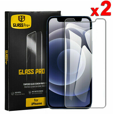 AU4.49 • Buy 2X For IPhone 12 Mini 11 Pro XR XS Max 7 8 Plus Tempered Glass Screen Protector