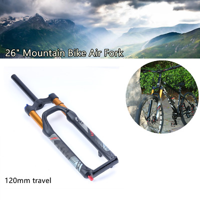 £99.64 • Buy 26 Inch Mountain Bike Front Fork Air Shock Bicycle Cycling Suspension Air Forks