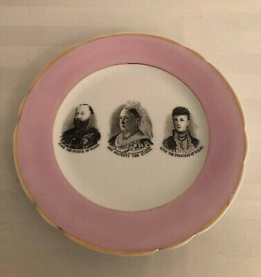 £29.50 • Buy Rare Queen Victoria & Family Antique China Plate /