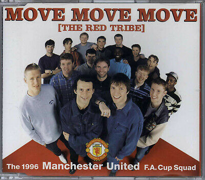 The 1996 Manchester United F.a. Cup Squad - Move Move Move (the Red Tribe) Uk Cd • 0.99£