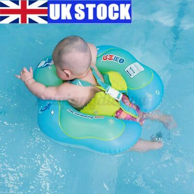 £12.19 • Buy L 50CM Inflatable Baby Kids Float Swimming Ring Safety Swim Ring Water Toy Aid