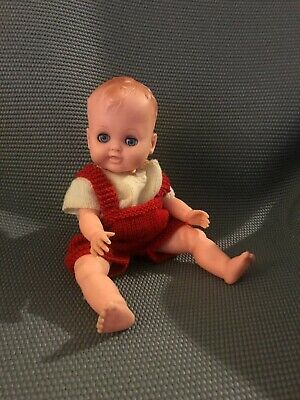 VINTAGE 1960's RODDY BABY DOLL WITH TUMMY SQUEAKER • 25£