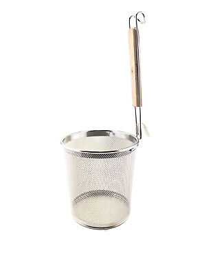 AU22 • Buy Stainless Pasta Spaghetti Cooker Strainer Japan Udon Noodle Strainer Flat Base