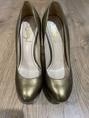 Ladies YSL Tribute Court Shoes Size 38 • 100£