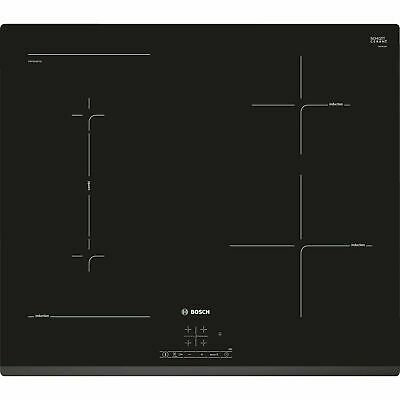 Bosch PWP631BF1B Serie 4 Four Zone Induction Hob - Black • 349.99£