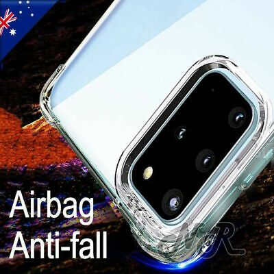 AU5.99 • Buy For Samsung Galaxy S20+ S20 FE Ultra S10 S9 S8 Plus Clear Case Heavy Duty Cover