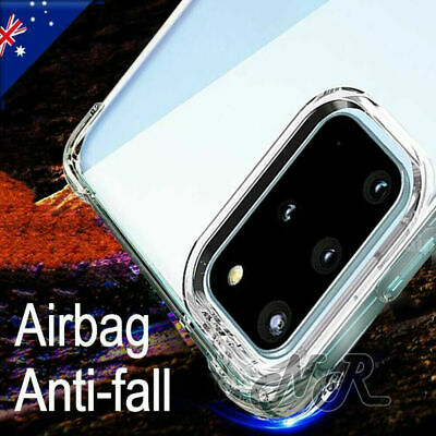 AU5.99 • Buy For Samsung Galaxy S20 FE S21 Ultra S10 S9 S8 Plus Clear Case Heavy Duty Cover