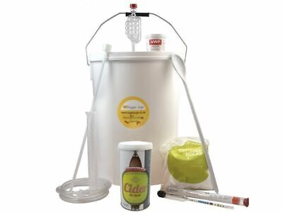 Cider Making Starter Kit - Brewmaker Cider Deluxe 40 Pts With Equipment Homebrew • 49.99£