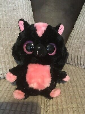 Yoohoo And Friends Plush Sparkee Skunk Pink And Black • 1£