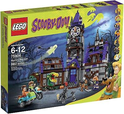 Lego Scooby Doo 75904 Mystery Mansion • 199£