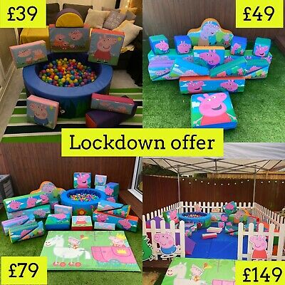£39 • Buy Peppa Pig Soft Play Hire From £39 LOCKDOWN OFFER