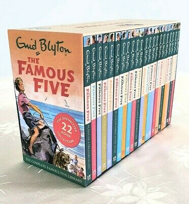 The Famous Five Book Collection 22 Books Box Set Complete Library *EXCELLENT* • 14.50£