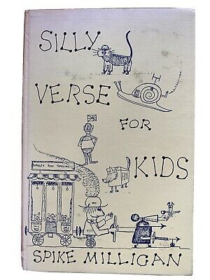 Silly Verse For Kids; Spike Milligan; 1ed (1959), 5th Impression (1967); SIGNED. • 215.91£