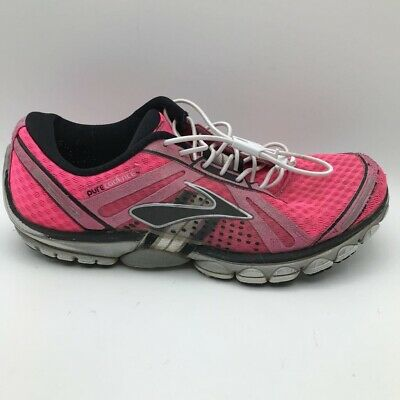 $ CDN28 • Buy Brooks Womens Pure Cadence Running Shoes Pink 1201041B880 Bungee Lace Up 8 M