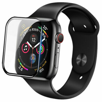 AU6.95 • Buy For Apple Watch IWatch Series 6 5 4 3 40 /44mm Tempered Glass Screen Protector