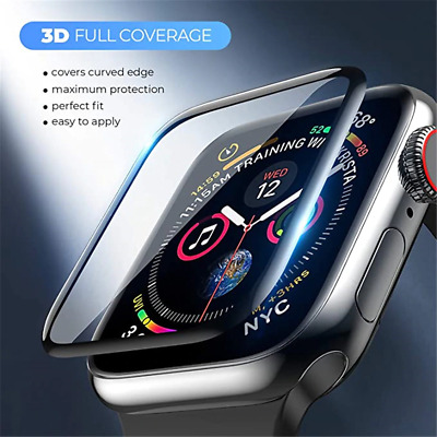 AU6.90 • Buy For Apple Watch IWatch Series 6 5 4 3 40 /44mm Tempered Glass Screen Protector